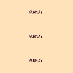 Cover of track Gunplay by TEEZY