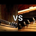 Cover of track GUITAR VS PIANO WHO WILL WIN??? by CheesePuffolas