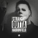 Cover of album Straight Outta Haddonfield: Hallloween Music by SirSpooksALot
