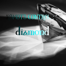Cover of track diamond by R3MOT3 CONTROL