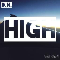Cover of track high by double. nationz.