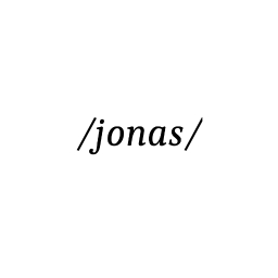 Avatar of user /jonas/