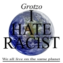 Cover of track I hate racist by Grotzo