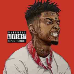 "Cover of track 21 savage type beat ""Hollow Tips"" by $penzzo Beats"