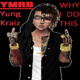 Cover of track sad trap by yungkraiz2
