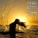 Cover of track When The Sun Goes Down Behind The Sea (Ambient Chillout Version) by Santi Tenca