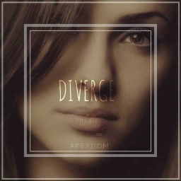 Cover of track DIVERGE by D I C L A I R