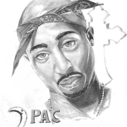 Cover of track 2pac Mix by slurpie