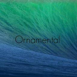 Cover of track Ornamental by neebah