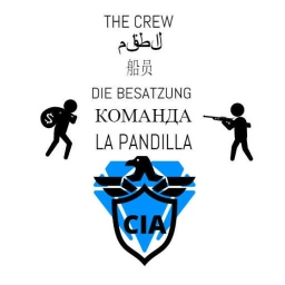 Cover of track THE CREW ft. trak_CHEATA, PROPAGANDA, and westkrew by Yin.