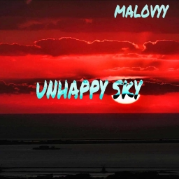 Cover of track unhappy sky by malovyy
