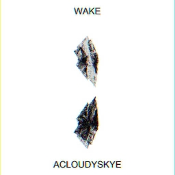 Cover of track Wake by acloudyskye