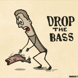 Cover of track drop the bass by Milan_0172