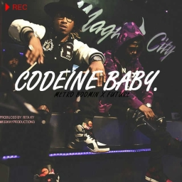 Cover of track Future Type Beat: Codeine Baby by W4VY K