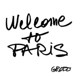 Cover of track Welcome to Paris by Grotzo