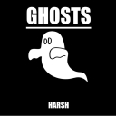 Cover of album Ghosts-single by Harsh