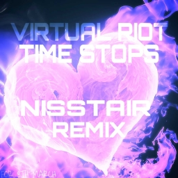 Cover of track Virtual Riot - Time Stops NS Remix by I X I T O Z