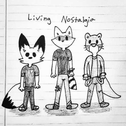 Cover of track Living Nostalgia - A Song I Wrote About Myself by Sven the Fenn