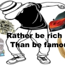 Cover of album Rather Be Rich Than Be Famous by Ultra_Instinct_80M