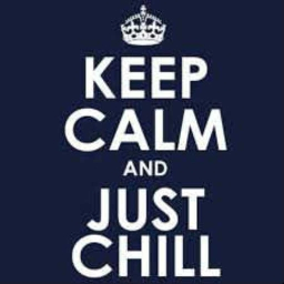 Cover of track KEEP CALM AND JUST CHILL by diskluuk