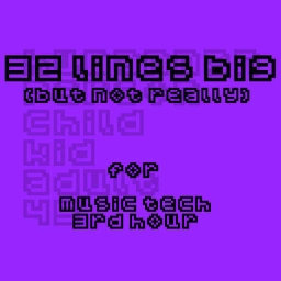 Cover of track 32 Lines big by spaceplum