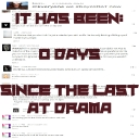 Avatar of user Days Since Last AT Drama