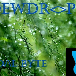 Cover of track Dewdrop by Pedal_Byte