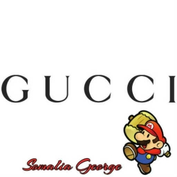 Cover of track Gucci Mario (Fluent X Somalia George) by George