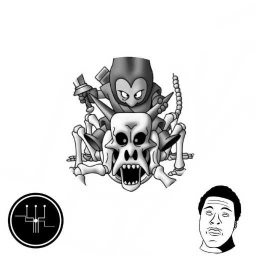 Cover of track Skull Rider by T S
