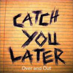 Cover of track catch you later by SARABIA619