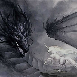 Cover of track Of unicorns and dragons by E-trim