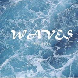 Cover of track WAVES (Prod. Cashcow) by LIAS B.