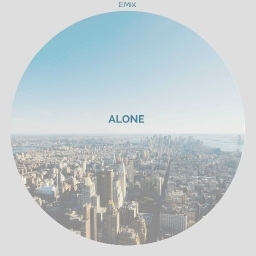 Cover of track Alone by EMIX