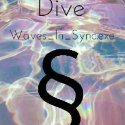Cover of track Dive by Waterholic