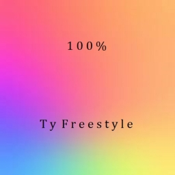 Cover of album 100% (EP) by Ty Freestyle