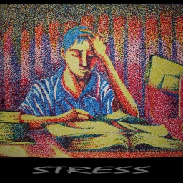 Cover of track A Stressful Playlist by The Playlist