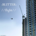 Cover of track flight by Blitter