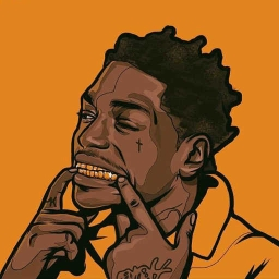 "Cover of track [2018]Kodak Black ""Kunta Kentae"" Type Beat by GodlyNa$Beatz™"