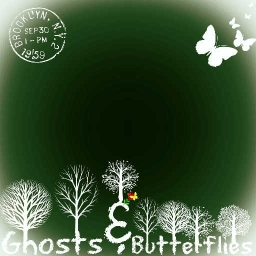 Cover of track Ghosts & Butterflies (Piano Version) by SteampunkFireflies