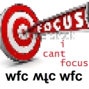 Cover of track i cant focus by DJwfc
