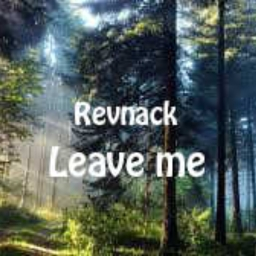 Cover of track Revnack - Leave me by Revnack