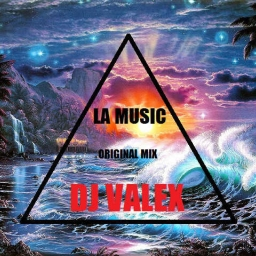 Cover of track la music by valentino_puopolo