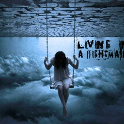 Cover of track Living in a Nightmare by Young Sine Graph