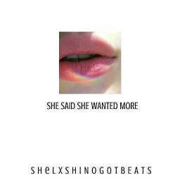Cover of track she said she wanted more by sheldon blair