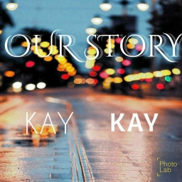 Cover of track Me,Her In Sky by KAY