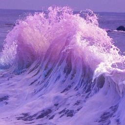 Cover of track purple waters by okin