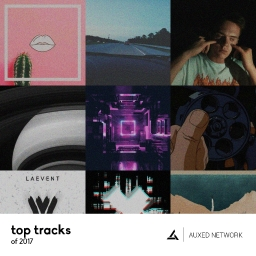 Cover of album Auxed: Top tracks of 2017 by Auxed Network |Remix Comp