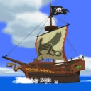 Cover of track Inside the Pirate Ship by 8-bit