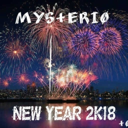 Cover of track New Year 2K18 (Official Mix) by Mys+eri0