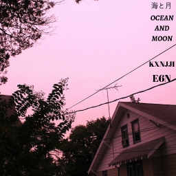 Cover of track ocean and moon by @Kxnjji